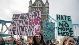 International Women's Day: Best placards from annual March4Women rally in London