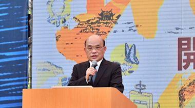 蘇貞昌:習近平九二共識是一國兩制併吞台灣
