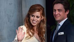 Princess Beatrice and Edoardo Mapelli Mozzi Attend the Wedding of Nina Flohr and Prince Philippos