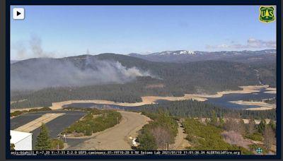 Fires in El Dorado County, Santa Cruz Mountains as extreme wind gusts hit California