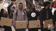 Jerome Bettis Helps Close Digital Divide At Sto-Rox High School With Laptop Donation