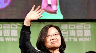 Taiwan 'already independent', Tsai warns China
