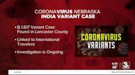Indian variant of the coronavirus found in Nebraska