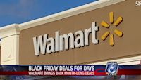 Walmart will conduct month-long series of sales in November