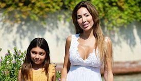 Farrah Abraham & Daughter Sophia, 10, Twin In Flowy Dresses In Venice — Pic