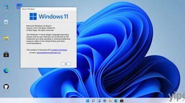 Windows 11 免安裝,網友用 Web 瀏覽器做出線上體驗版 !