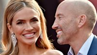 Chrishell Stause Makes Red Carpet Debut With Jason Oppenheim