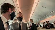 Flight Carrying First UAE Delegation to Israel Departs Abu Dhabi