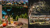 台中約會餐廳盤點!8間超有氣氛「台中夜景餐廳」~三角型玻璃窗建築、180度零死角夜景超完美!
