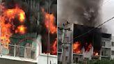 烈焰狂燒「陽台鐵窗阻逃」 印度婦在鄰居面前燒成焦屍