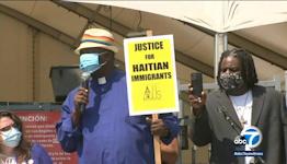 Maxine Waters condemns Border Patrol's treatment of Haitian migrants