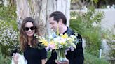 Lily James and New Boyfriend Michael Shuman Walk Hand-in-Hand in L.A.