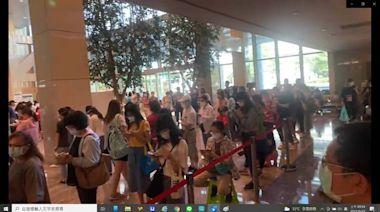 莫德納早上開打 500醫護擠爆亞東醫院