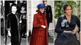 THEN AND NOW: Royal maternity fashion over the years, from Queen Elizabeth's maternity coats to Meghan Markle's designer gowns