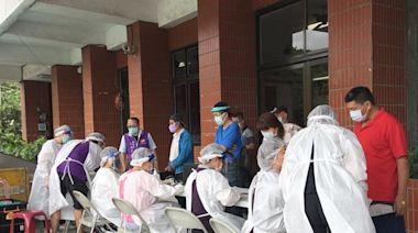 草屯療養院啟動社區疫苗接種專案 颱風前摩擬演練加強安全