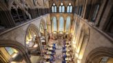 Salisbury Cathedral turns into vaccine hub, complete with symphony of live music