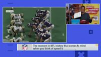 Moment in NFL history where speed comes to mind 'GMFB'