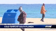 Cold temps hit South Florida