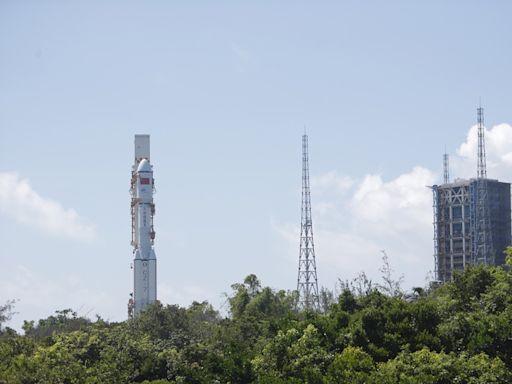 長征七號火箭殘骸墜落南太平洋