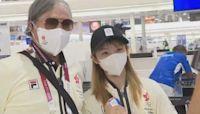 東京奧運香港代表團返港