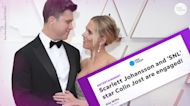 Scarlett Johansson and Colin Jost use Meals on Wheels' Instagram to break wedding news