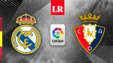 VER Real Madrid vs. Osasuna EN VIVO por ESPN 2: hora, canal y transmisión del duelo por LaLiga