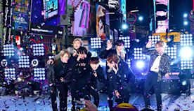 BTS Ushers in 2020 With Stellar Performances at New Year's Rockin' Eve in Times Square: Watch