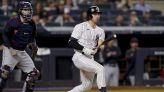 Yankees' Joey Gallo available, but not in starting lineup one day after leaving game with neck issue