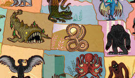 """Map Shows Famous Mythical Creatures """"Living"""" in Every State"""