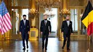 Biden meets Belgian King Philippe, Prime Minister De Croo