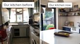 I completely transformed my three bedroom house on the cheap with savvy hacks