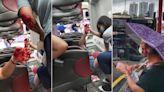 奪命小巴車禍|意外後車廂照曝光 乘客親述驚險一刻:嘭一聲天旋地轉 見唔到司機個頭 | 蘋果日報