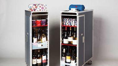 港航告急 拍賣機上餐車、餐酒