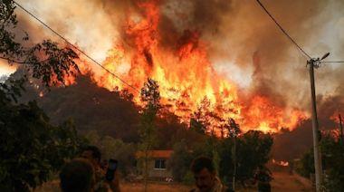 土耳其野火6天燒35省 出動無人機打火