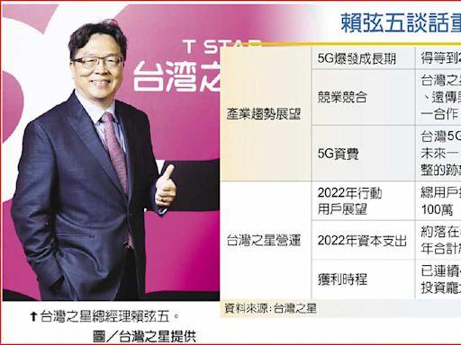 賴弦五:台灣5G爆發最快2023 - A17 科技要聞 - 20210924 - 工商時報