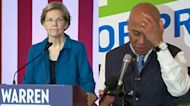 Warren presses on, Patrick bows out after tough New Hampshire primary