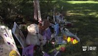 Memorial for Gabby Petito in North Port continues to grow