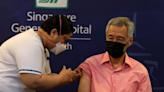 新加坡總理接種第三劑新冠疫苗-國際在線
