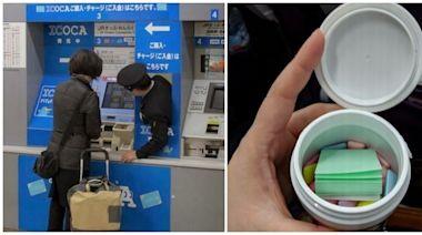 買口香糖附便條紙!18個「在日本才看得到」的超酷日常 機場拿行李「地勤用顏色漸層排列」視覺療癒
