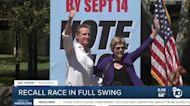 Sen. Elizabeth Warren campaigns for Gov. Gavin Newsom