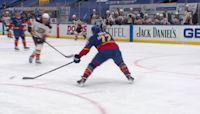 a Spectacular Goalie Save from St. Louis Blues vs. Anaheim Ducks