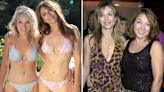 Elizabeth Hurley, 55, and sister Kate, 57, look sensational in matching bikinis