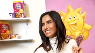 Padma Lakshmi Schools AD on How to Make the Best Gingerbread House Ever