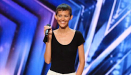 AGT 's Nightbirde Speaks Out During Finale After Exiting amid Cancer Battle: 'Raging and Crying'