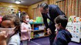 Emhoff touts Biden's infrastructure plan in preschool visit