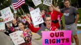 Anger over mask, vaccine mandates brews up fresh tea party protests