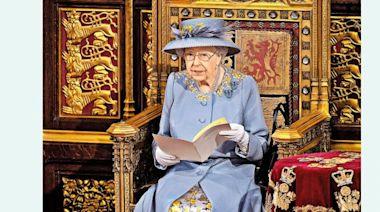 英女皇喪夫後首次發表施政演說