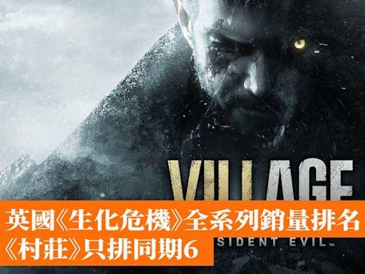 英國《生化危機》全系列銷量排名 《村莊》只排同期6 - 香港手機遊戲網 GameApps.hk