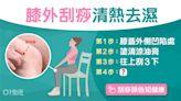刮痧|1個穴位清熱去濕 中醫教點刮瘦身腿變幼10下肌肉即放鬆?