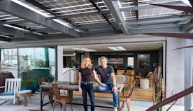 Inside Anna Paquin and Stephen Moyer's Driftwood-Like L.A. Abode
